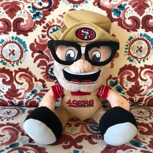 🏈San Francisco 49er Plush Doll❤️